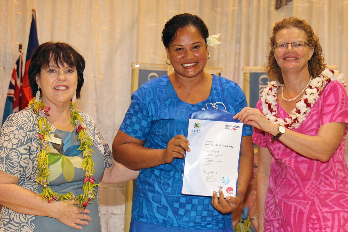 APTC CEO Ms Denise O