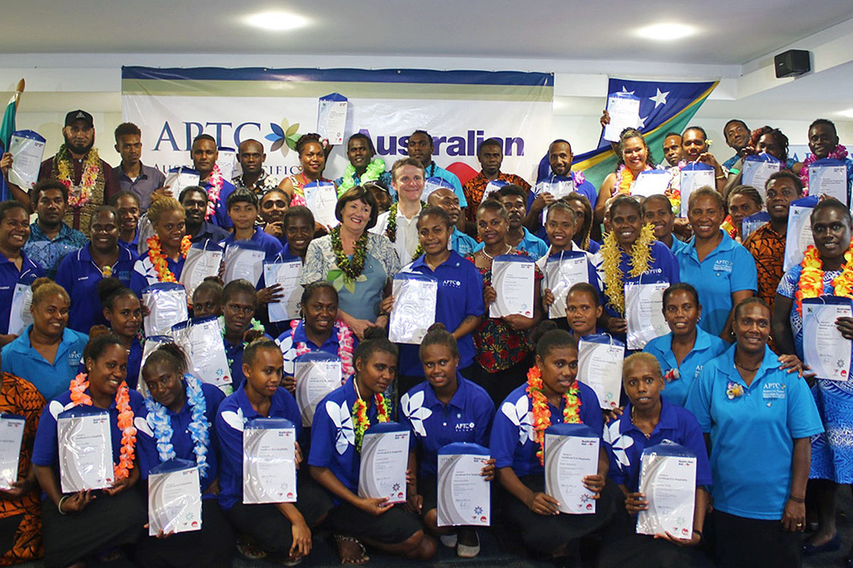 More than 60 Solomon Islanders graduate from APTC