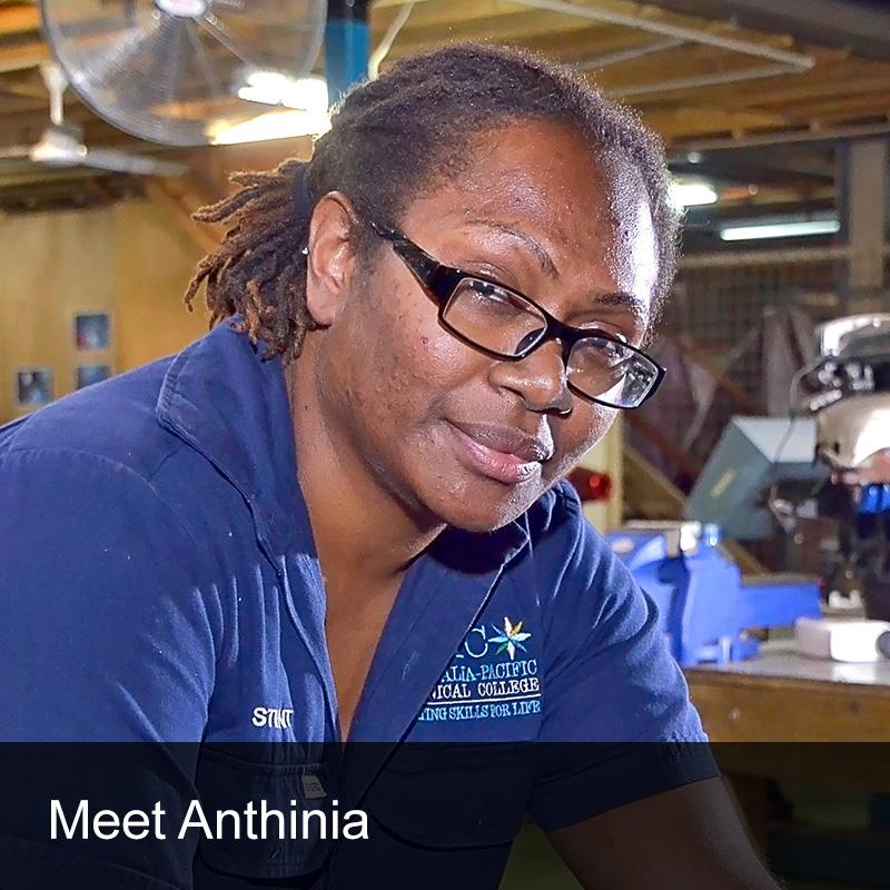 APTC Student Testimonial Anthinia Temakon