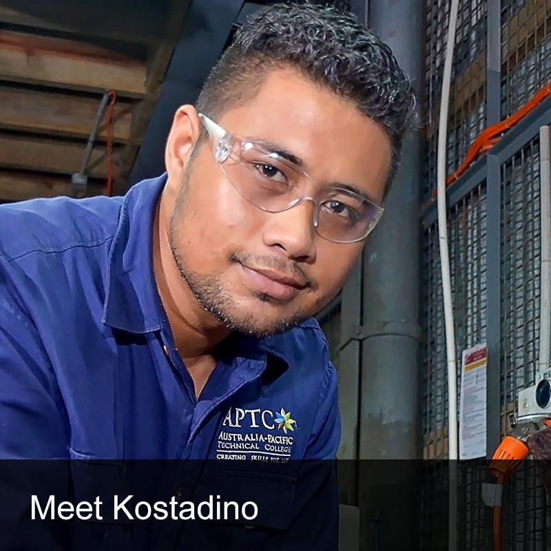 APTC Student Testimonial Kostadino Noue