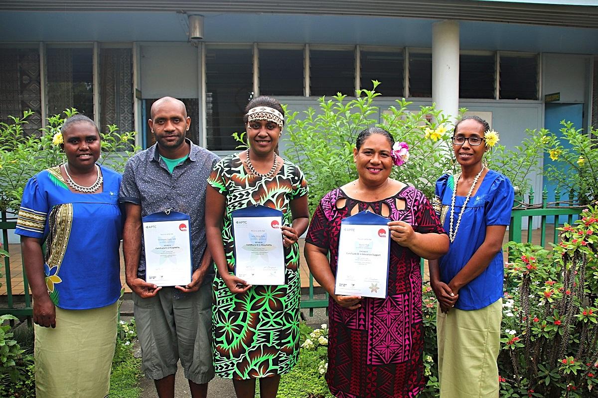 APTC celebrates historic virtual graduation in Solomon Islands