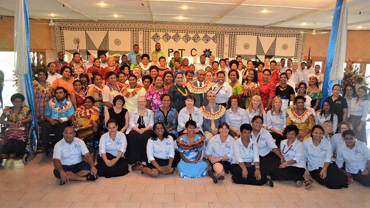 APTC Fiji Graduation group photo. PHOTO APTC