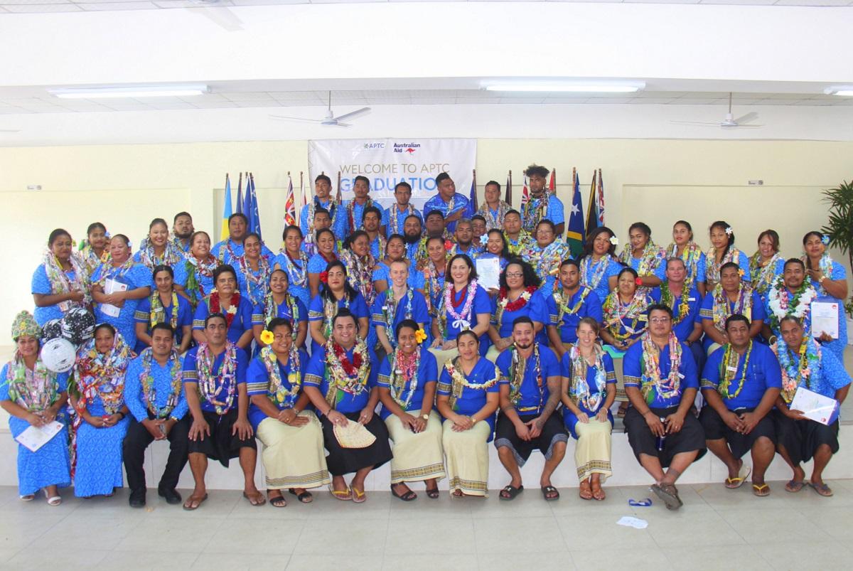 APTC graduates welcomed as newest members of Samoa's workforce