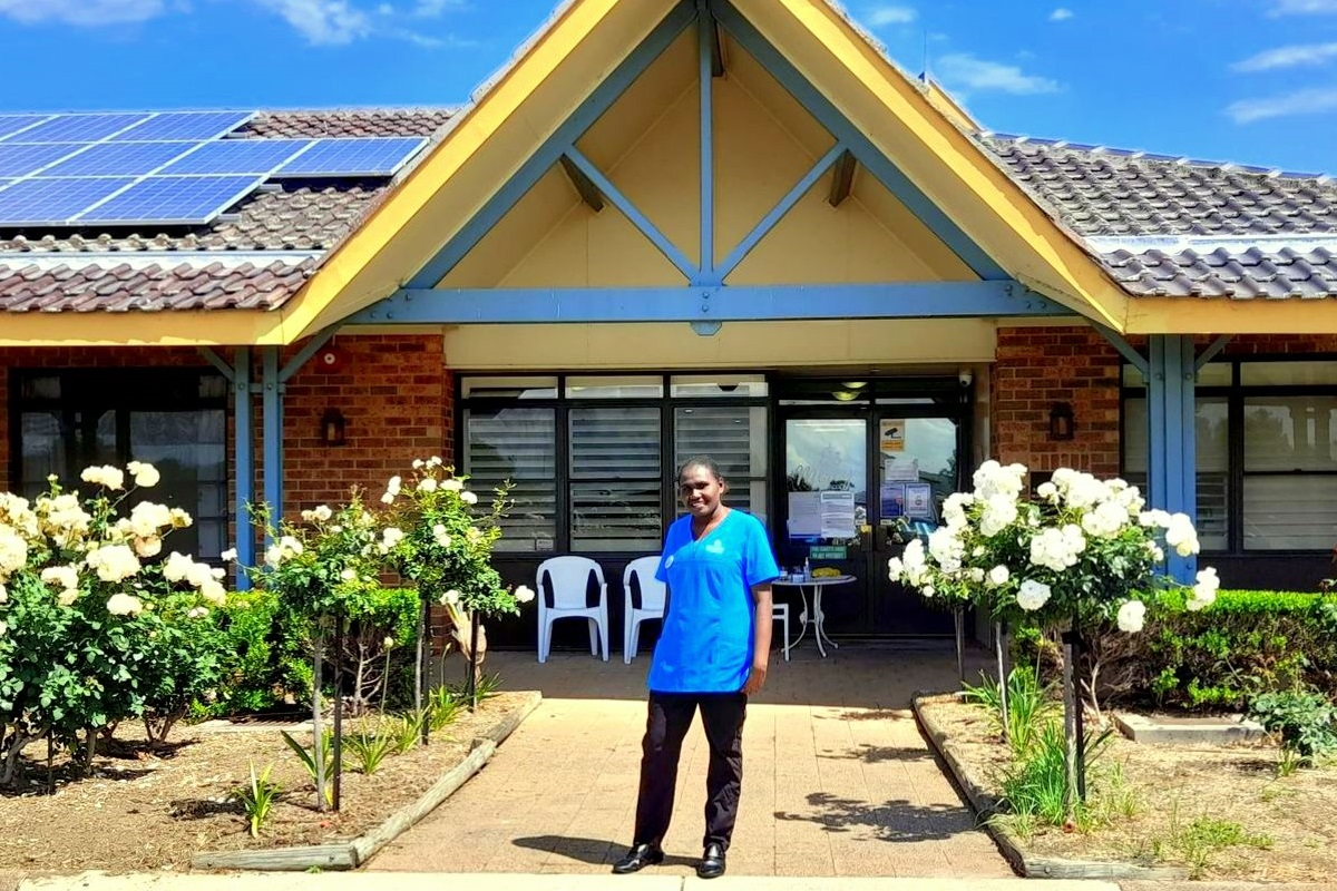APTC-trained aged care worker finds home away from home in Singleton