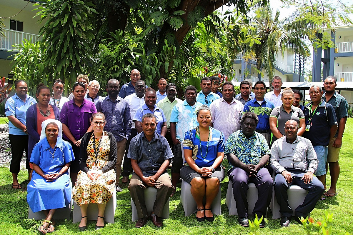 APTC workshop on TVET strengthening in the Solomon Islands