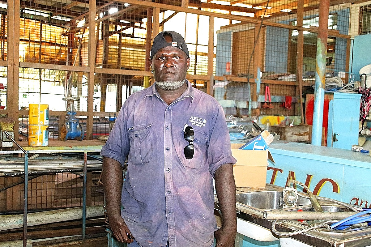 Career growth achieved through TVET skills training- Boaz Watasa_Solomon Islands