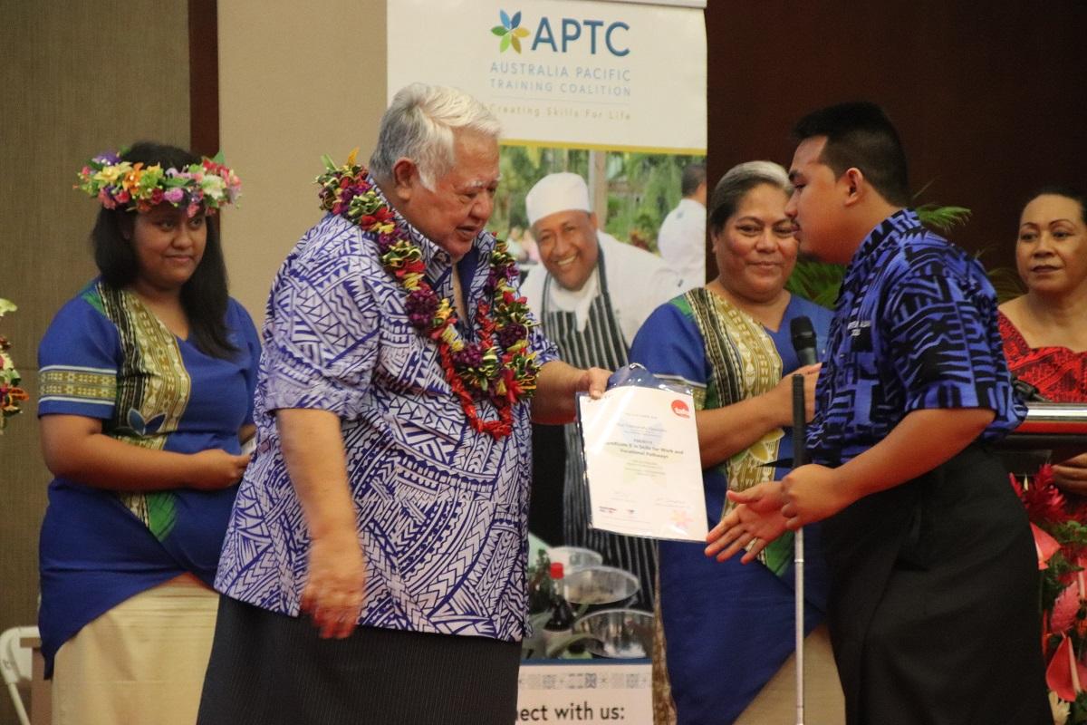 Over 70 Samoans graduate from APTC